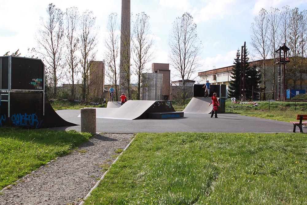Skatepark Bystřice nad Pernštejnem